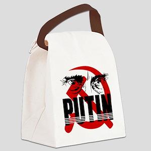 putin Canvas Lunch Bag