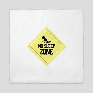 NO SLEEP ZONE Queen Duvet
