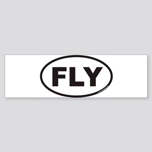 FLYoval Bumper Sticker