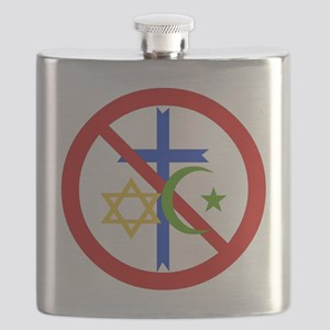 No Religion Flask
