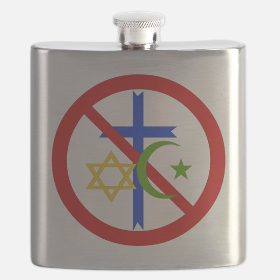 No Religion Flask