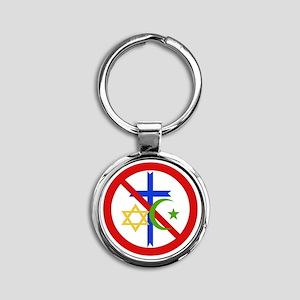 No Religion Keychains