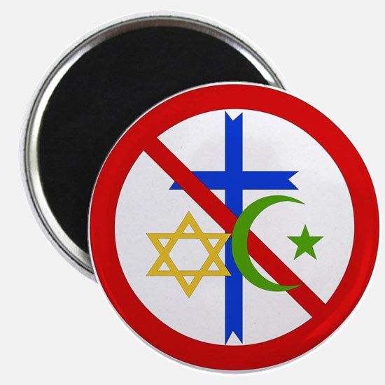 No Religion Magnets