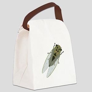Cicadas Resting Canvas Lunch Bag
