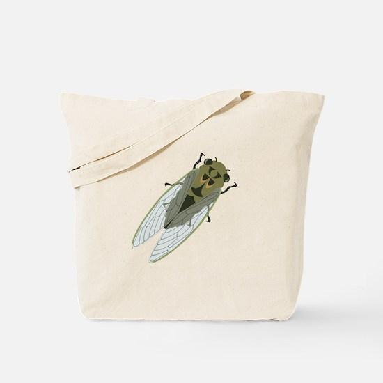 Cicadas Resting Tote Bag