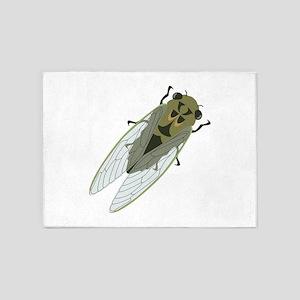 Cicadas Resting 5'x7'Area Rug