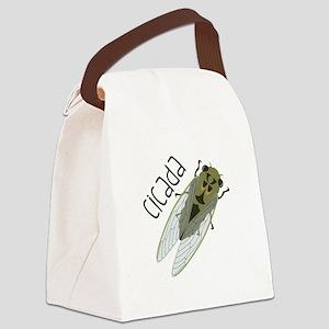 Cicada Canvas Lunch Bag