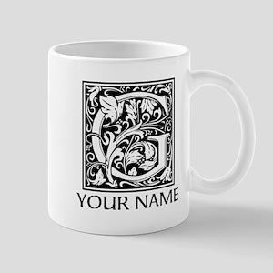 Custom Decorative Letter G Mugs