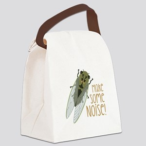Make Some Noise! Canvas Lunch Bag