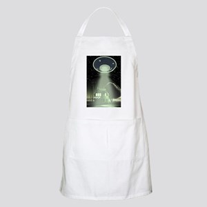 Abduction! Green BBQ Apron