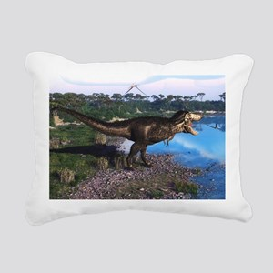 Tyrannosaurus 2 Rectangular Canvas Pillow