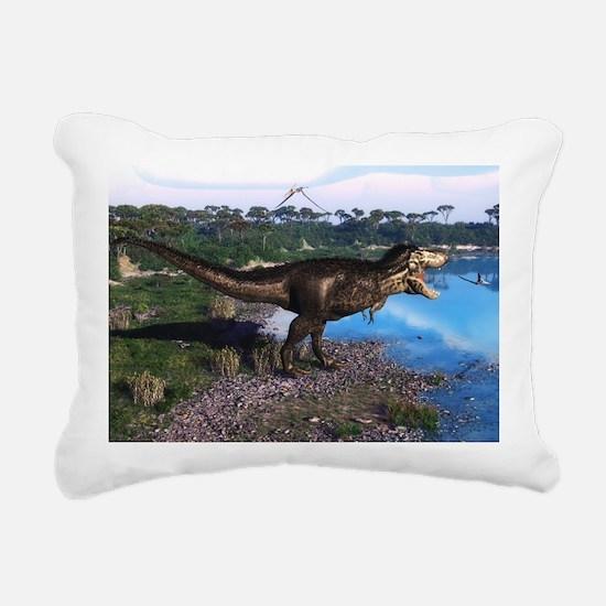 Tyrannosaurus 2 Rectangular Canvas Pillow
