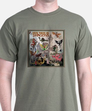 There Be Dragons T-Shirt