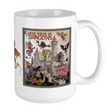 Dragon Large Mugs (15 oz)