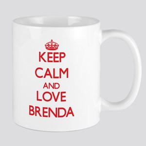 Keep Calm and Love Brenda Mugs
