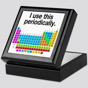 I Use This Periodically Keepsake Box