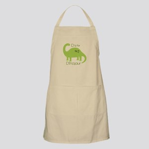 D Is For Dinosaur Apron
