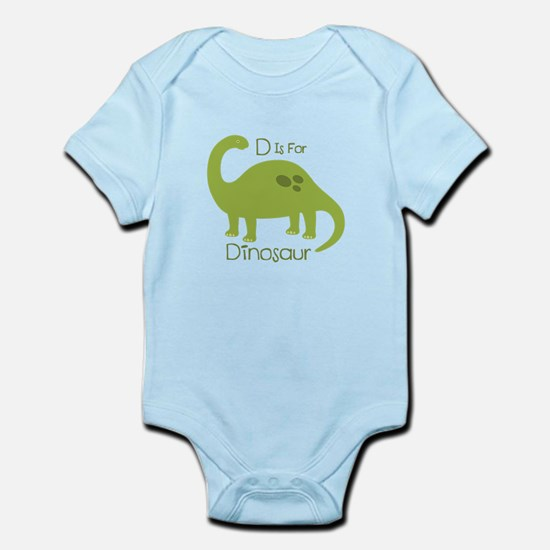 D Is For Dinosaur Body Suit