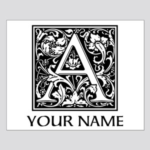 Custom Decorative Letter A Posters