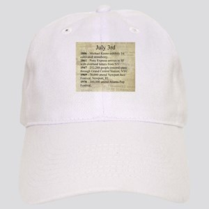 July 3rd Baseball Cap
