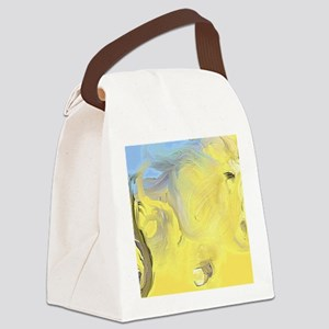 Abstract Horse Canvas Lunch Bag