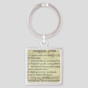 August 29th Keychains