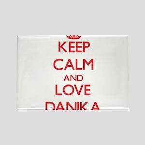 Keep Calm and Love Danika Magnets