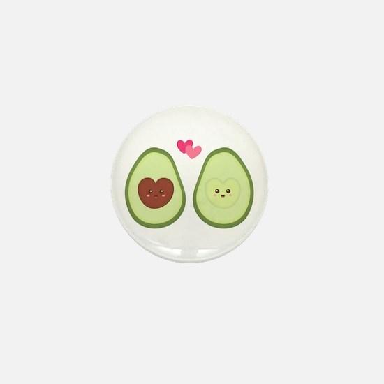 Cute Avocado in love, perfect other half Mini Butt