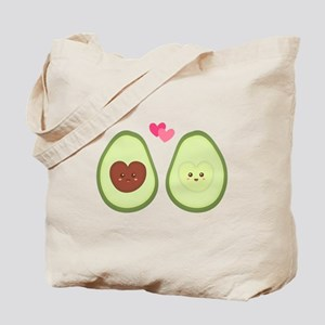 Cute Avocado in love, perfect other half Tote Bag