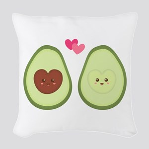 Cute Avocado in love, perfect other half Woven Thr