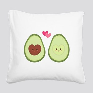 Cute Avocado in love, perfect other half Square Ca