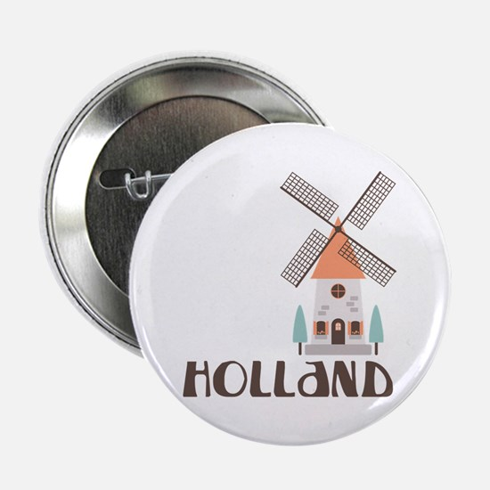 "HOLLAND 2.25"" Button"