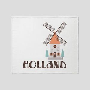 HOLLAND Throw Blanket