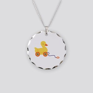Duck Pull Toy Necklace
