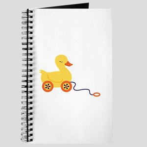 Duck Pull Toy Journal