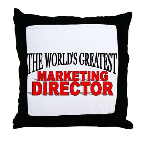 """The World's Greatest Marketing Director"" Throw Pi"
