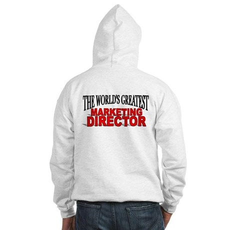 """""""The World's Greatest Marketing Director"""" Hooded S"""
