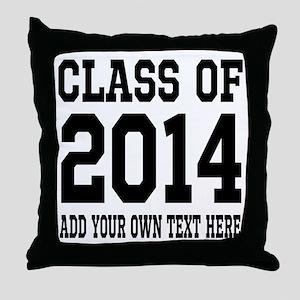 Class of 2014 Graduation Throw Pillow