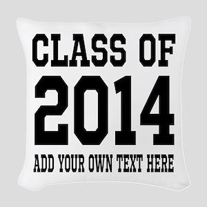 Class of 2014 Graduation Woven Throw Pillow