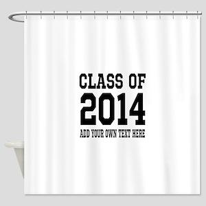Class of 2014 Graduation Shower Curtain