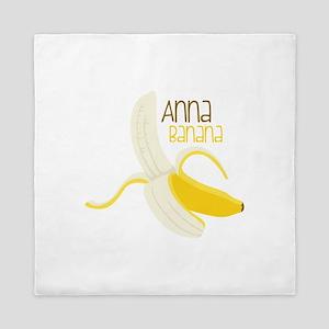 Anna Banana Queen Duvet