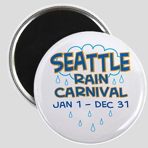 Seattle Rain Carnival Magnet
