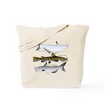 Three North American Catfish c Tote Bag