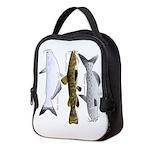 Three North American Catfish c Neoprene Lunch Bag
