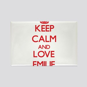 Keep Calm and Love Emilie Magnets
