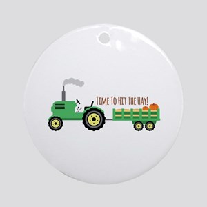 Time To Hit The Hay! Ornament (Round)