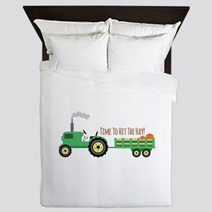 Time To Hit The Hay! Queen Duvet