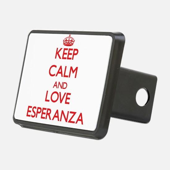 Keep Calm and Love Esperanza Hitch Cover