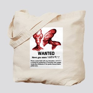 Universe's Most Wanted Red Tote Bag