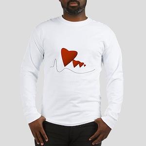 Heartbeats - Long Sleeve T-Shirt